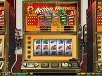 Action Heroes Money Slot Game made by PlayTech