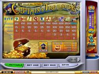 Captain's Treasure Money Slot Game made by PlayTech