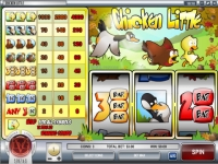 Chicken Little Money Slot Game made by Rival