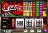 Classic Bar Money Slot Game made by PlayTech