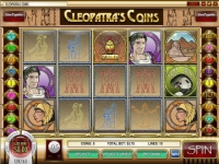 Cleopatra's Coin Money Slot Game made by Rival