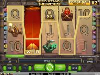 Egyptian Heroes Money Slot Game made by NetEnt