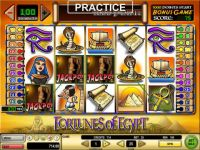 Fortunes of Egypt Money Slot Game made by GTECH