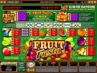 Fruit Fiesta 5-Reels Money Slot Game made by Microgaming