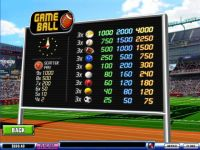 Game Ball Money Slot Game made by PlayTech
