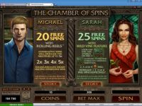 Immortal Romance Money Slot Game made by Microgaming