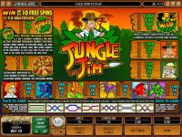 Jungle Jim Money Slot Game made by Microgaming