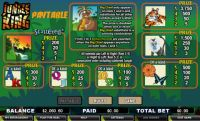 Jungle King Money Slot Game made by CryptoLogic