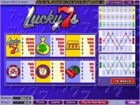Lucky 7s Money Slot Game made by WGS Technology