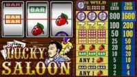 Lucky Saloon Money Slot Game made by Microgaming