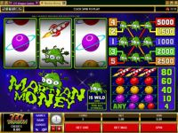 Martian Money Money Slot Game made by Microgaming