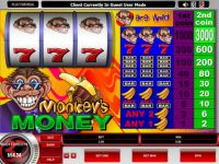 Monkey's Money Money Slot Game made by Microgaming