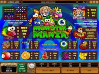 Monster Mania Money Slot Game made by Microgaming