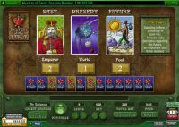 Mystery of the Tarot Money Slot Game made by 888