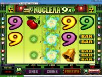 Power Spins - Nuclear 9's Money Slot Game made by Microgaming
