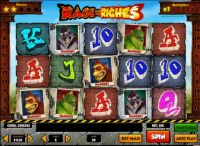 Rage to Riches Money Slot Game made by Play'n GO