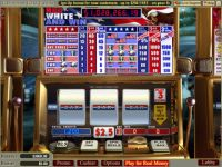 Red White and Win Money Slot Game made by WGS Technology