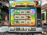 Safari Madness Money Slot Game made by NetEnt