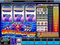 Spectacular Wheel of Wealth Money Slot Game made by Microgaming