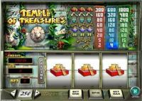 Temple of Treasures Money Slot Game made by PlayTech