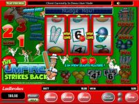 The Umpire Strikes Back Money Slot Game made by Microgaming
