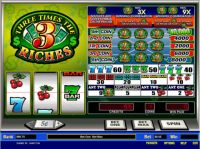 Three Times the Riches Money Slot Game made by Parlay