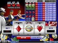 USA Poker Money Slot Game made by PlayTech