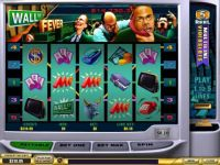 Wall st Fever 5 Line Money Slot Game made by PlayTech