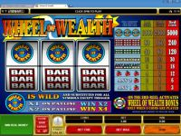 Wheel of Wealth Money Slot Game made by Microgaming