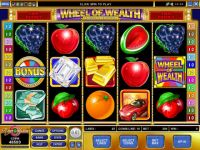 Wheel of Wealth Special Edition Money Slot Game made by Microgaming