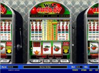 Wild Cherry 1 Line Money Slot Game made by Parlay