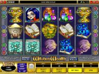 Witches Wealth Money Slot Game made by Microgaming