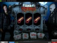 Zombies and Vampires Money Slot Game made by 888