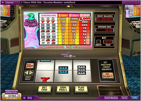 2 Times Wild Real Slot made by 888