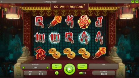 88 Wild Dragons Real Slot made by Booongo