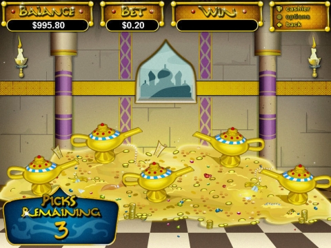 Aladdin's Wishes Real Slot made by RTG