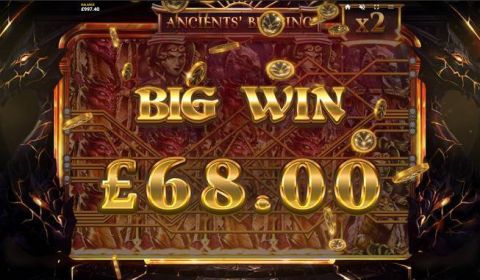 Ancients' Blessing Real Slot made by Red Tiger Gaming