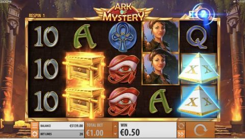 Ark of Mystery Real Slot made by Quickspin