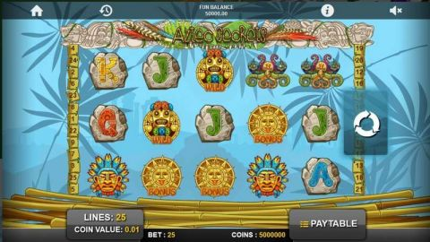 Aztec Secrets Real Slot made by 1x2 Gaming