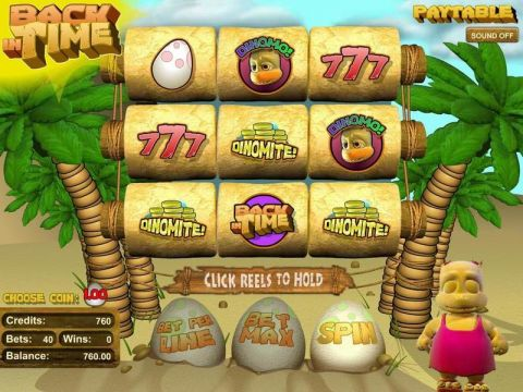 Back in Time Real Slot made by BetSoft