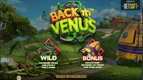 Back to Venus Real Slot made by BetSoft