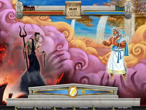 Battle for Olympus Real Slot made by CryptoLogic