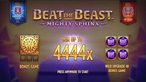 Beat the Beast: Mighty Sphinx Real Slot made by Thunderkick