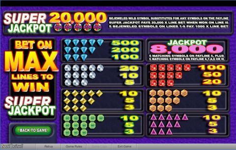 Bejeweled Real Slot made by bwin.party