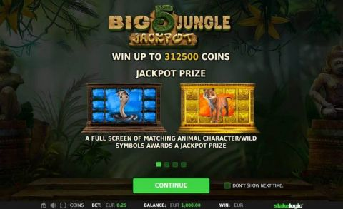 Big 5 Jungle Jackpot Real Slot made by StakeLogic