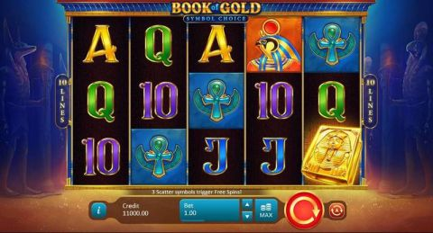 Book of Gold: Symbol Choice Real Slot made by