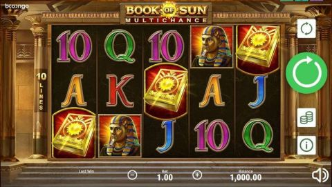 Book of Sun: Multichance Real Slot made by