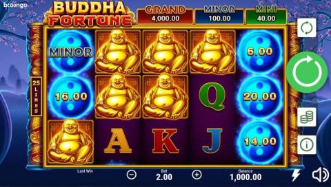 Buddha Fortune Real Slot made by Booongo