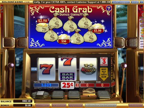 Cash Grab Real Slot made by WGS Technology