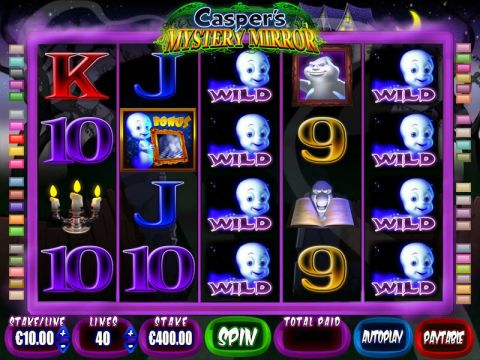 Casper's Mystery Mirror Real Slot made by Blueprint
